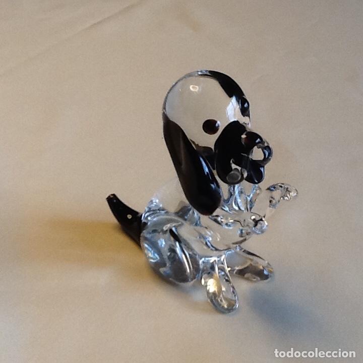 Antigüedades: Precioso pisapapeles perro cristal murano. Peso 414grs. - Foto 5 - 191357217