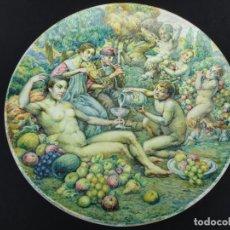 Antigüedades: JOSEP JORDI GUARDIOLA BRUNET: PLATO DE CERÁMICA. Lote 191361750