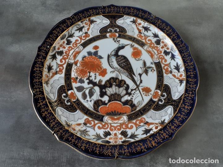 Antigüedades: ANTIGUO PLATO PORCELANA DE JAPON. - Foto 2 - 191366818