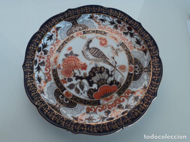 ANTIGUO PLATO PORCELANA DE JAPON. (Antigüedades - Porcelanas y Cerámicas - China)