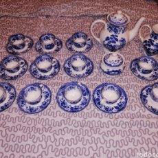 Antigüedades: PRECIOSO JUEGO DE CAFE DE PORCELANA CHINA DIFICIL DE ENCONTRAR.. Lote 191371477