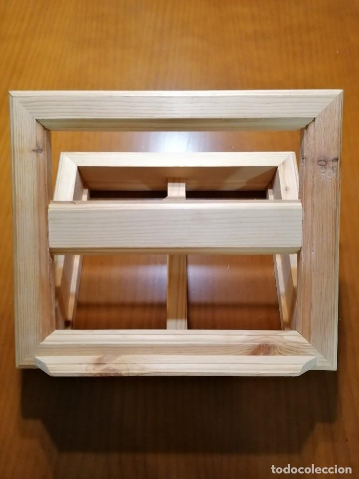 Antigüedades: Atril de madera - Foto 2 - 191372697