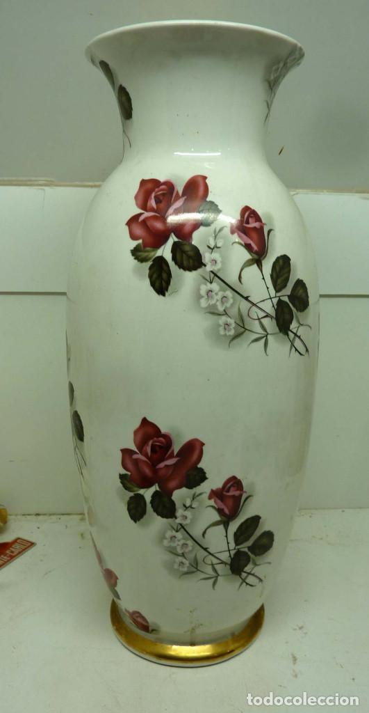 JARRON PORCELANA HISPANIA 60 CM (Antigüedades - Porcelanas y Cerámicas - Otras)