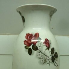 Antigüedades: JARRON PORCELANA HISPANIA 60 CM. Lote 191375533
