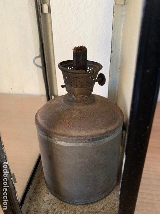 Antigüedades: FAROL DE MAQUINA DE TREN MUY ANTIGUO RENFE - Foto 5 - 191384226