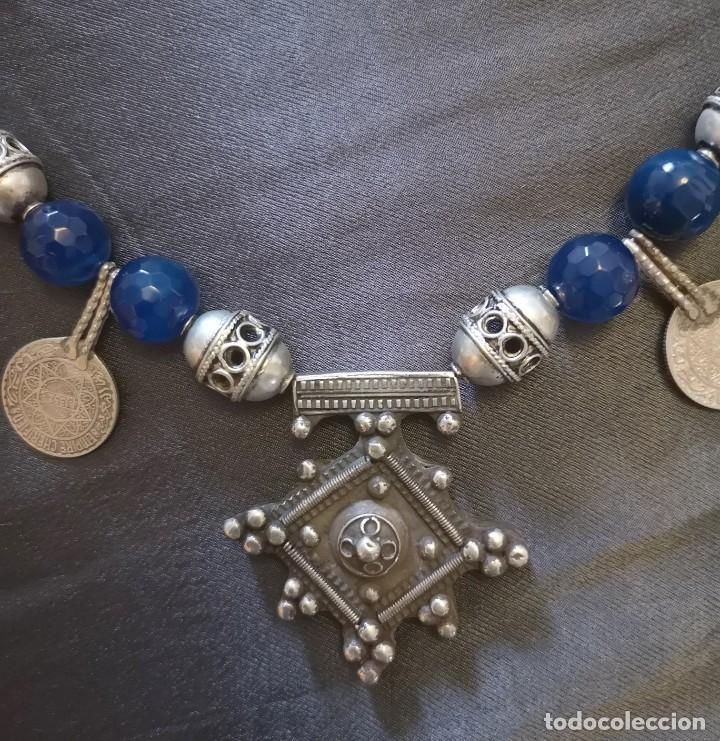 Antigüedades: collar cruz del desierto - Foto 3 - 191406835