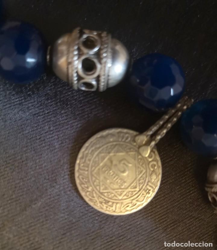 Antigüedades: collar cruz del desierto - Foto 5 - 191406835