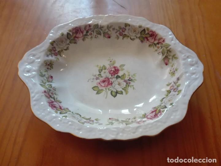 FUENTE DE PORCELANA INGLESA (Antigüedades - Porcelanas y Cerámicas - Inglesa, Bristol y Otros)