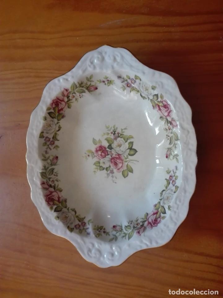 Antigüedades: Fuente de porcelana inglesa - Foto 2 - 191450328