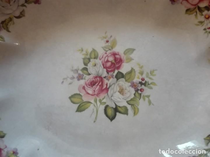 Antigüedades: Fuente de porcelana inglesa - Foto 3 - 191450328