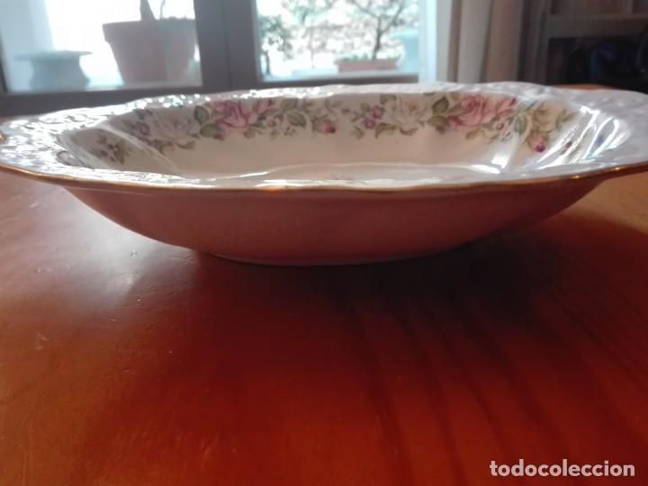Antigüedades: Fuente de porcelana inglesa - Foto 6 - 191450328