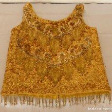 Antigüedades: VESTIDO CHARLESTON CON LENTEJUELAS - EXCELENTE CALIDAD.. Lote 191450515