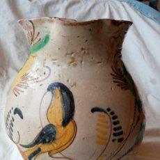 Antigüedades: ANTIGUA JARRA DE CERAMICA DE PUENTE DEL ARZOBISPO S.XIX . Lote 191458861