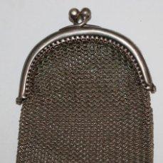 Antigüedades: MONEDERO EN PLATA. Lote 191459592