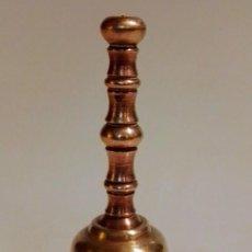 Antigüedades: CAMPANILLA DE METAL . Lote 191464015