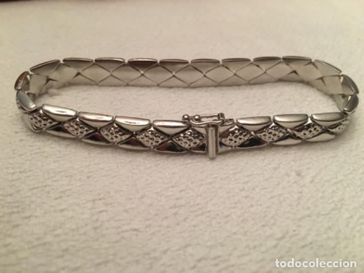 Antigüedades: Pulsera de plata - Foto 4 - 191475960