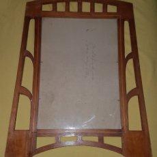 Antigüedades: ANTIGUO MARCO MADERA ART DECÓ. Lote 191518661