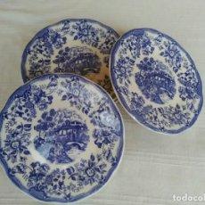 Antigüedades: 6 PLATOS DE PORCELANA IRONSTONE TABLEWARE. Lote 191527585