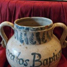Antigüedades: IMPRESIONANTE JARRA DE FAJALAUZA SIGLO XVI.. Lote 191540446