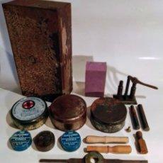 Antigüedades: ESTUCHE DE CARGAS DE CARTUCHOS . Lote 191540730