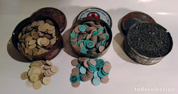Antigüedades: ESTUCHE DE CARGAS DE CARTUCHOS - Foto 19 - 191540730