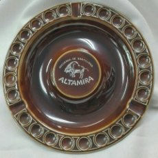 Antigüedades: CENICERO DE PORCELANA VIDRIADA. Lote 191543442