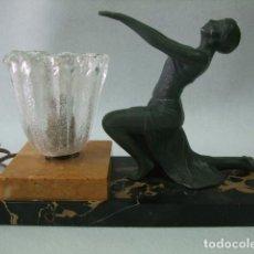 Antigüedades: LAMPARA ART DECO. Lote 191571488