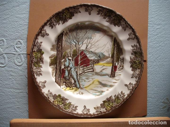 PLATO JOHNSON BROS INGLATERRA (Antigüedades - Porcelanas y Cerámicas - Inglesa, Bristol y Otros)