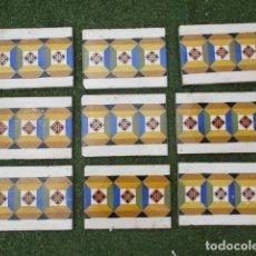 Antigüedades: AZULEJO VALENCIANO SIGLO XIX. Lote 191588512