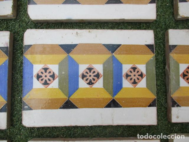 Antigüedades: Azulejo Valenciano siglo XIX - Foto 2 - 191588512