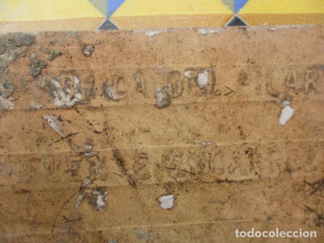 Antigüedades: Azulejo Valenciano siglo XIX - Foto 4 - 191588512