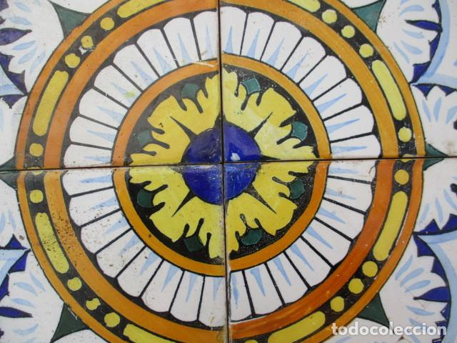 Antigüedades: Azulejo Valenciano siglo XIX - Foto 2 - 191589671