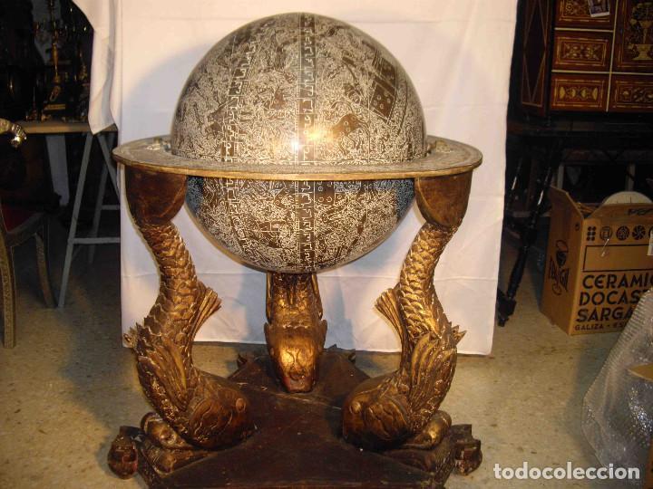 ASTROLABIO GLOBO GRANDE (Antigüedades - Hogar y Decoración - Otros)