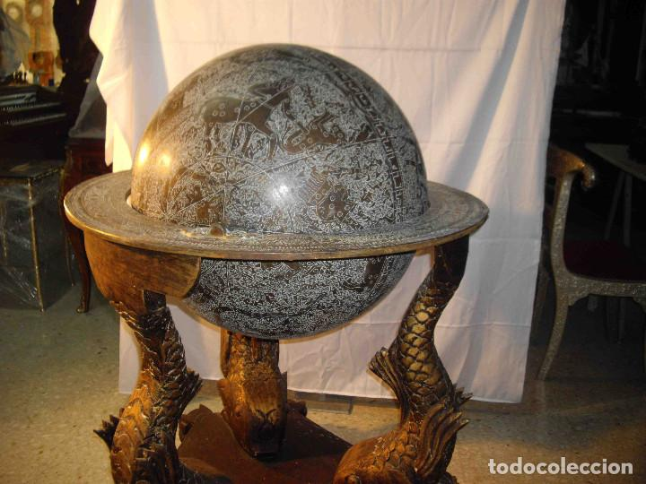 Antigüedades: ASTROLABIO GLOBO GRANDE - Foto 2 - 191629307