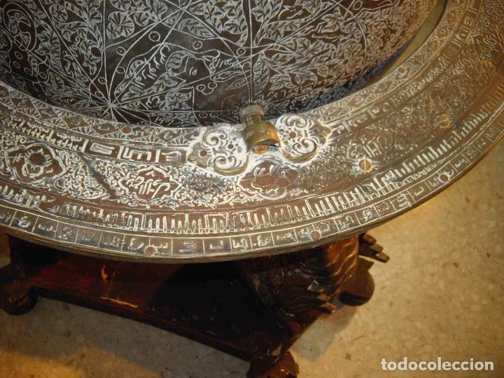 Antigüedades: ASTROLABIO GLOBO GRANDE - Foto 11 - 191629307