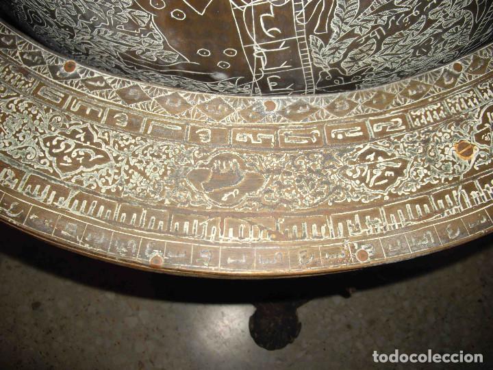 Antigüedades: ASTROLABIO GLOBO GRANDE - Foto 14 - 191629307