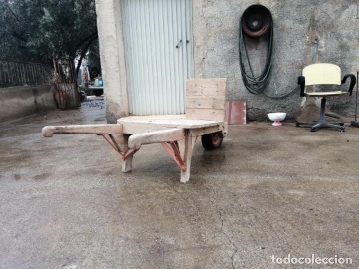 Antigüedades: Carretilla de madera - Foto 5 - 191629855