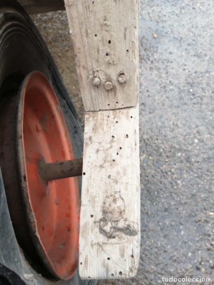 Antigüedades: Carretilla de madera - Foto 8 - 191629855