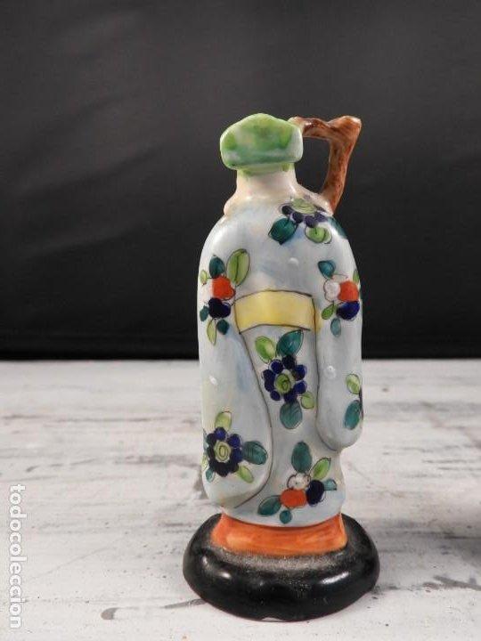 Antigüedades: PAREJA DE ANTIGUAS FIGURAS DE PORCELANA CHINA - Foto 4 - 191642457