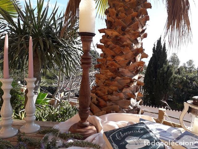 Antigüedades: Antiguo candelero - Foto 3 - 191649456