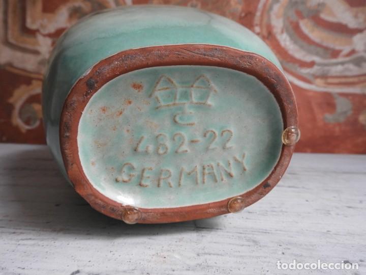 Antigüedades: BONITO JARRON DE CERAMICA VIDRIADA CON VISTOSOS COLORES - Foto 9 - 191654772