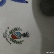 Antigüedades: JARRA CAPODIMONTE. Lote 191655705