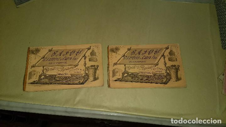 Antigüedades: Dessins de Broderies Sajou Paris. Álbumes Nº 605 y 606 - Foto 2 - 191729745