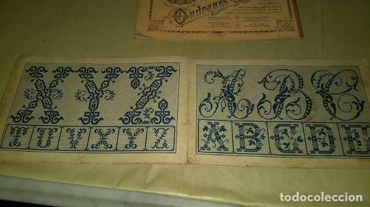 Antigüedades: Dessins de Broderies Sajou Paris. Álbumes Nº 605 y 606 - Foto 10 - 191729745