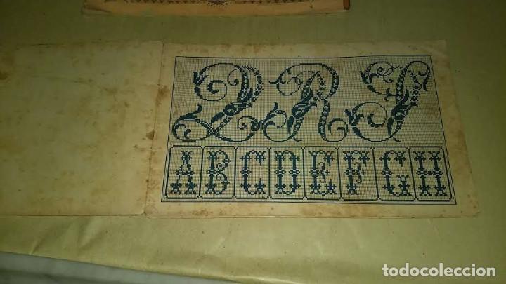 Antigüedades: Dessins de Broderies Sajou Paris. Álbumes Nº 605 y 606 - Foto 15 - 191729745