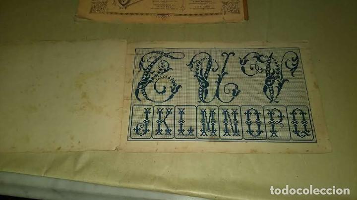 Antigüedades: Dessins de Broderies Sajou Paris. Álbumes Nº 605 y 606 - Foto 16 - 191729745