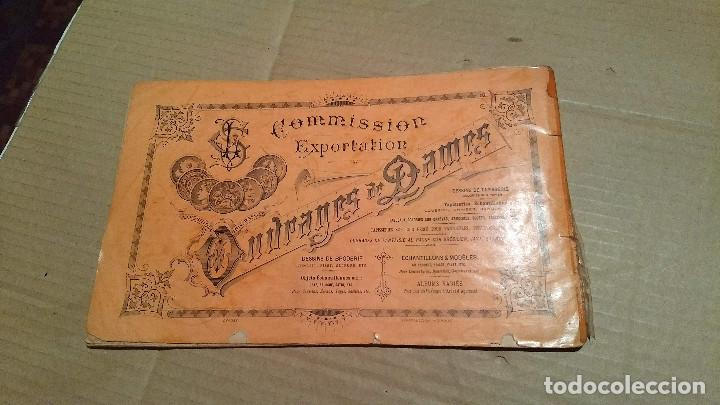 Antigüedades: Dessins de Broderies Sajou Paris. Álbumes Nº 605 y 606 - Foto 20 - 191729745