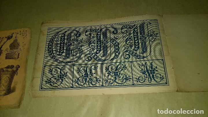Antigüedades: Dessins de Broderies Sajou Paris. Álbumes Nº 605 y 606 - Foto 25 - 191729745
