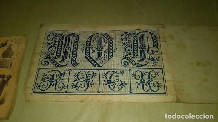 Antigüedades: Dessins de Broderies Sajou Paris. Álbumes Nº 605 y 606 - Foto 27 - 191729745