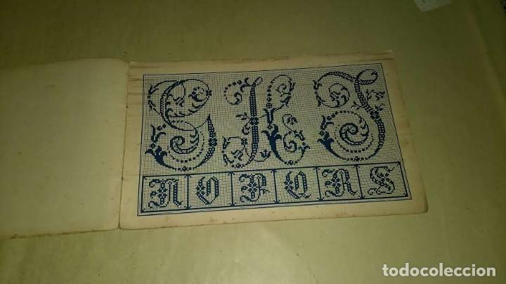 Antigüedades: Dessins de Broderies Sajou Paris. Álbumes Nº 605 y 606 - Foto 32 - 191729745